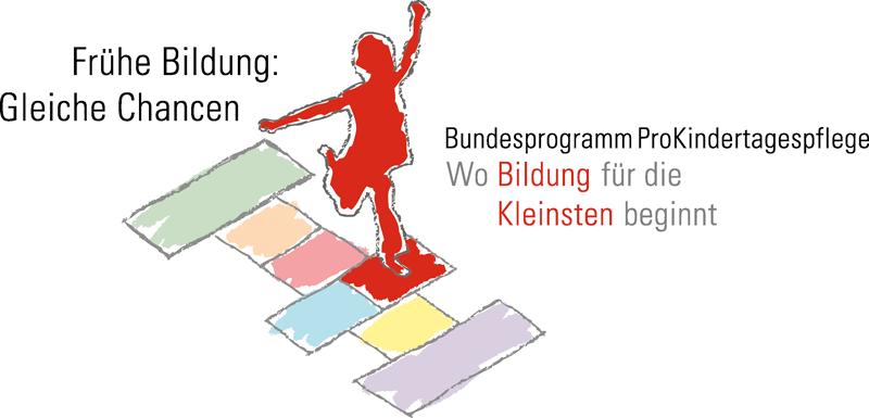 Logo des Bundesprogramms ProKindertagespflege